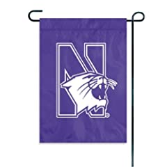 Buy NCAA Northwestern Wildcats Garden Window Flag by The Party Animal