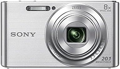 Sony DSC-W830 Cyber-shot Fotocamera Digitale Compatta con zoom ottico 8x, Argento
