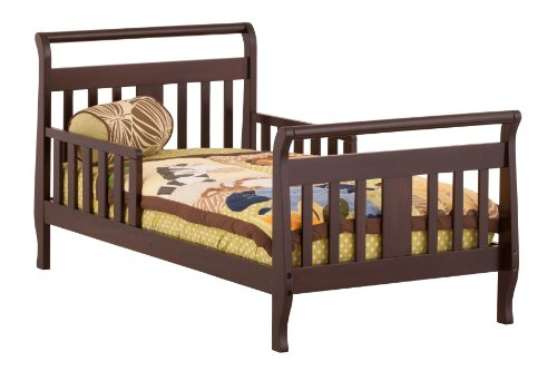 Stork Craft Soom Soom Toddler Bed, Espresso - 1