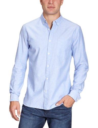 JACK & JONES PREMIUM Herren Hemd mit Manschetten 12058233 Oxford Shirt, Gr. 54 (XL), Blau (CASHMERE BLUE)