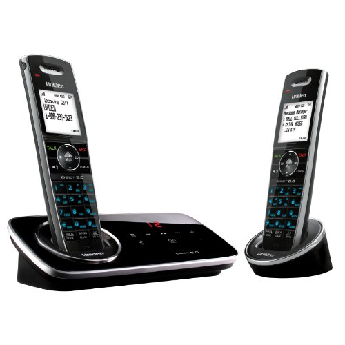 DECT 6.0 2 handset w/ TAD/Black