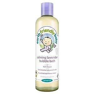 Earth Friendly bebé Calmante lavanda baño de burbujas ECOCERT 300ml en BebeHogar.com
