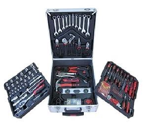 188 TLG. Werkzeugkoffer Alu Trolley Werkzeug  BaumarktÜberprüfung und Beschreibung