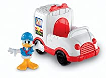 Fisher-Price Mickey Mouse Clubhouse Donald's Ambulance Vehicle