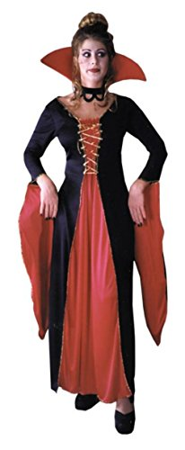 Morris Costumes Womens Vampire Victorian Vampiress Halloween Party Dress