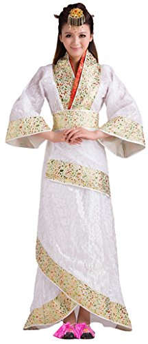 Chinese Tang Dynasty Princess's Costumes Dress Women's Halloween Cosplay HanFu