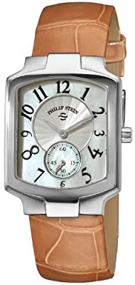Philip Stein Women's 21-FMOP-AA Classic Almond Alligtor Leather Strap Watch