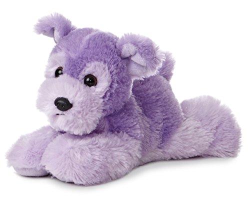"Colorful Purple Cutie Terrier 8"" by Aurora"