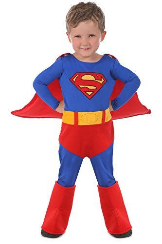 Little Boys' Child Cuddly Superman Costume