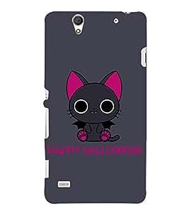 Kitty Happy Halloween 3D Hard Polycarbonate Designer Back Case Cover for Sony Xperia C4 Dual E5333 E5343 E5363 :: Sony Xperia C4 E5303 E5306 E5353