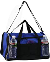 Sports Gym Duffel Bag Large Zipper Opening, Royal Blue by BAGS FOR LESSTM
