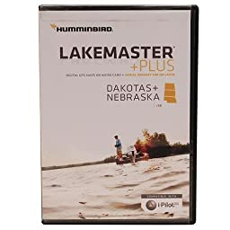 Humminbird LakeMaster Plus Dakotas/Nebraska - microSD