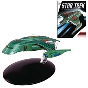 Star Trek Starships Romulan Shuttle Die-Cast Vehicle with Collector Magazine #77