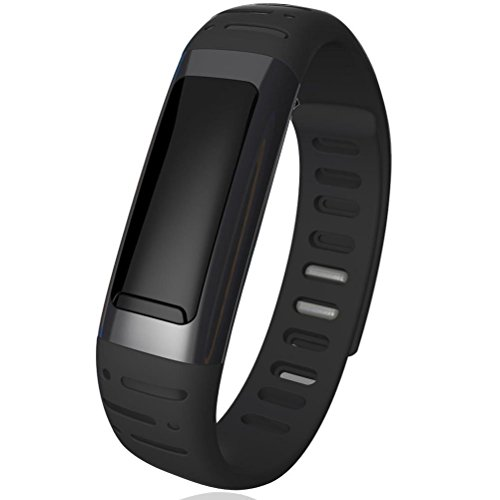 Enrgo(Tm) Fashional Healthy Waterproof Bluetooth Smart Watch Wrist Watch Bracelet With Calorie Counter & Pedometer & Wifi Hotspots Functions For Samsung S5 S4 S3 Note 2/3,Iphone 5S 4S ,Sony,Htc,Huawei Smart Phone (Black)