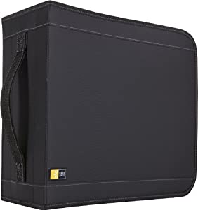 Case Logic CD/DVDW-320 336 Capacity Classic CD/DVD Wallet (Black)