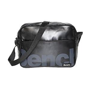 Bench Unisex Umhängetasche Echo Despatch BagBMXA0454, Hooch Black,37 x 13 x 30 cm