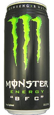 5 Pack - Monster Original BFC Energy Drink - 32 Ounce