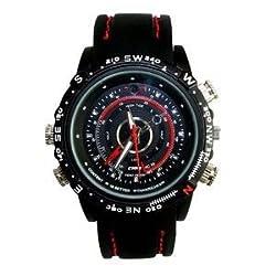 Future tech Waterproof DV1280X960 Spy Wrist Watch HD Video Recorder Hidden Camera DVR 4Gb