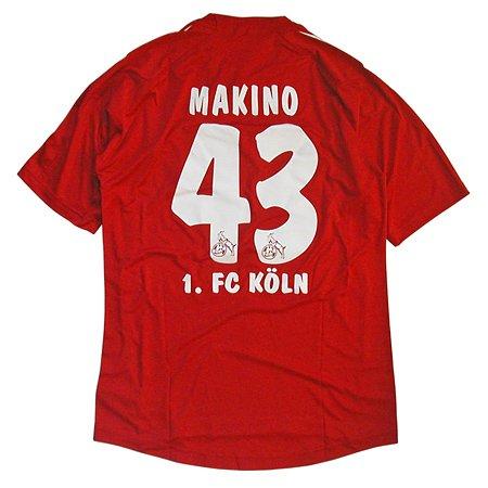 2010-11 1.FCケルン ホーム半袖 ユニフォーム #43 MAKINO (槙野智章)