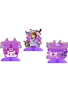 Sofia the First Centerpiece Decoration (3 Count)