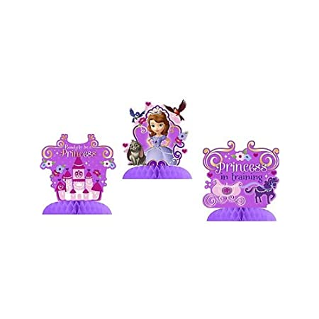 Disney Junior Sofia the First Party Table Decorations