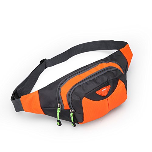 opethome-multi-functional-sports-waist-bag-for-with-3-zippers-for-running-walking-traveling-orange