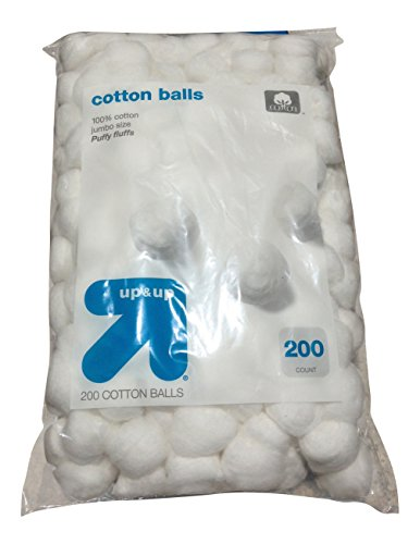Cotton Balls Bag of 200 Health Beauty Personal Care