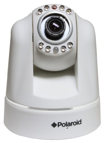 Polaroid IP200W wireless IP Network Security Camera, Pan and Tilt, White - 5 Pack