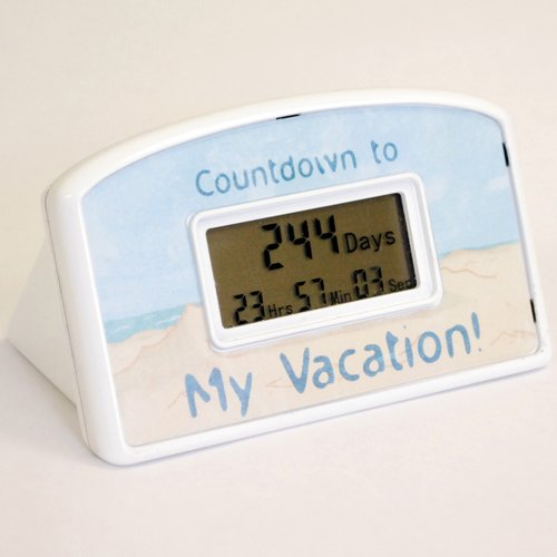 Countdown Timer - Vacation - Beach Theme