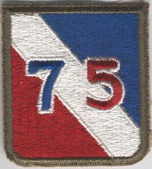 75th Infantry Division Dress Patch - Genuine WWII