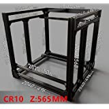Zamtac BLV MGN Cube Frame Extrusion +MGN 12H Rails kit for DIY CR10 3D Printer Z Height 565MM - (Size: Silver) (Tamaño: Silver)