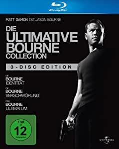 Die ultimative Bourne Collection (3 Blu-rays) [Blu-ray]