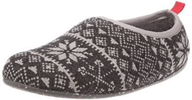 Camper Wabi 18546 Mens Slippers 18546-020 Tweed Bosf Flock Gris 6 UK, 40 EU