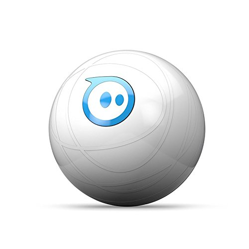 스피로 20 로봇 공 Sphero 20: The App-Controlled Robot Ball, White/Blue