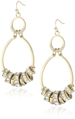 Jessica Simpson Medium Double Hoop Earrings