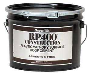 Geocel Rp 400 Wet Dry Roof Cement 3 Gallon 1 Box