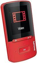 Philips - SA4VBE04RF - GoGear Vibe - Lecteur mp4 - 4 Go - Rouge