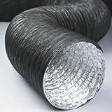 FLEXIBLE ALUMINIUM - PVC COMBI HOSE 127MM DIA, 10 METRES
