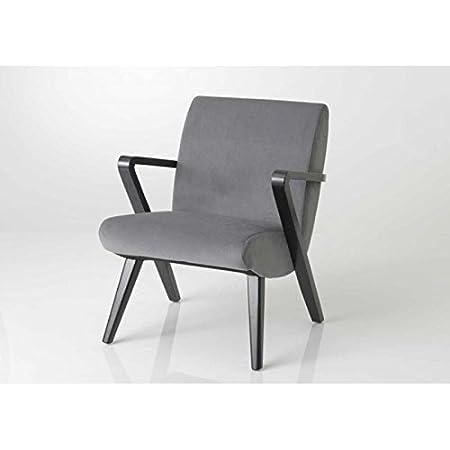 Fauteuil gris années 50 moderne