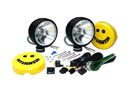 Kc Hilites #634 Daylighter - Driving Lamp Light Black 130W Pair Of 2 Lights