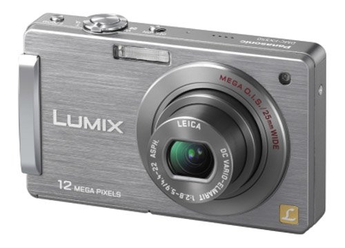 Panasonic Lumix FX550 Digital Camera - Silver (12.1MP, 5x Optical Zoom) 3.0 inch LCD