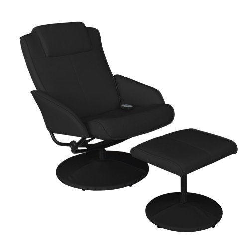 Massagesessel Fernsehsessel Relaxsessel - Schwarz