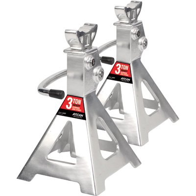 Great Deal! Arcan Aluminum Jack Stands - 3-Ton Capacity, Pair, Model# AJS3T