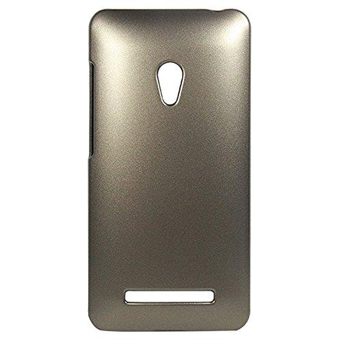 ASUS ZenFone 5 メタリックエアーケース AIR SLIM DESIGN [ A500KL 16GB 32GB SIMフリー LTE / 楽天モバイル版 対応 ] 薄型軽量デザイン ワンタッチ装着 Metallic Air Design Case PCハード素材MY WAY 専用パッケージ (ASUS ZenFone 5, Metallic Gold (金))