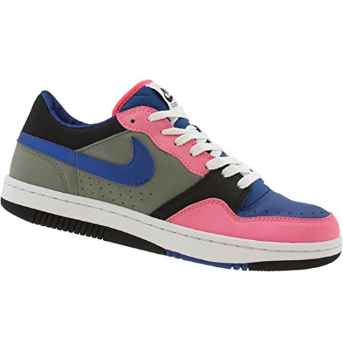 pictures of Nike Womens Court Force Low (dark stucco / varsity blue / lava)-11.5