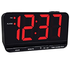 Jumbo Display Digital Alarm Clock with 3-inch LED