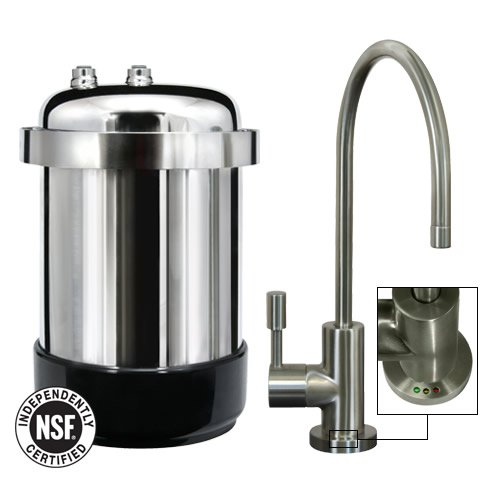 Home Water Filtration Systems Waterchef U9000 Premium Under Sink Water Filtration System