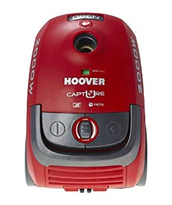 Hoover Capture Pets Tcp2011 Bagged Cylinder Vacuum Cleaner