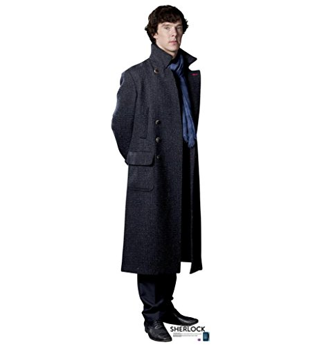 Sherlock Holmes - BBC's Sherlock - Advanced Graphics Life Size Cardboard Standup (Life Size Cardboard Stand Up compare prices)