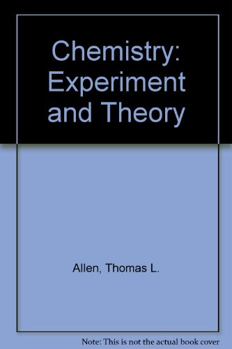 Chemistry, experiment and theory PDF